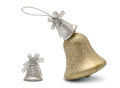Christmas hand bell Stock Photography