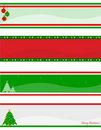Christmas header / banner Stock Photo