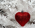 Christmas Heart Royalty Free Stock Photo