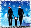 Christmas holiday, family Royalty Free Stock Image