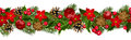 Christmas horizontal seamless background Royalty Free Stock Image