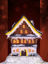 Christmas house Royalty Free Stock Images