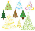 Christmas house objects Royalty Free Stock Photos