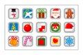 Christmas Icon Set - version 2