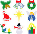 Christmas Icons 2/eps Royalty Free Stock Image