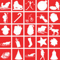 Christmas icons. Stock Photography