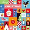 Christmas Icons Background