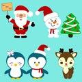 Christmas icons. Collection.