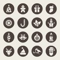 Christmas Icons. Each Icon Is ...
