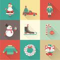 Christmas icons this is file of eps format Stock Photo