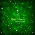 Christmas  Illustration, Green...