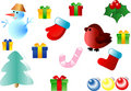 Christmas illustrations Royalty Free Stock Photo