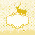 Christmas Invitation card template. EPS 8 Royalty Free Stock Photography
