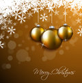 Christmas invitation greeting card sample Royalty Free Stock Photo