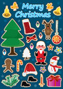 Christmas Item set_eps Royalty Free Stock Image
