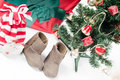 Christmas items Royalty Free Stock Photos