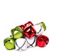 Christmas jingle bells on a white background Stock Photography