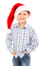 Christmas Kid Stock Photo