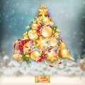 Christmas knitted holidays background. EPS 10