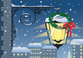 Christmas lantern Royalty Free Stock Images