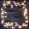 Christmas light background, colorful  version available Royalty Free Stock Photo