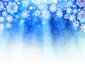 Christmas light blue background. EPS 8 Royalty Free Stock Photography