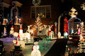 Christmas Lights and Decorations Royalty Free Stock Photo