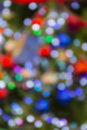 Christmas lights defocused Royalty Free Stock Photo
