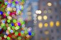 Christmas Lights Mix Royalty Free Stock Photo