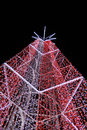 Christmas lights red and white many decoration Stock Images