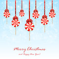 Christmas Lollipops With Bow O...