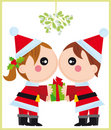 Christmas in love Royalty Free Stock Images