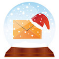 Christmas mail Stock Photos
