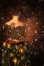 Christmas Mannequin Royalty Free Stock Photo