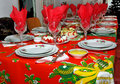 Christmas meal Royalty Free Stock Photo