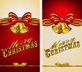 Christmas Menu Banner Card Stock Image