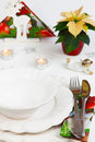 Christmas menu invitation to the Royalty Free Stock Photos