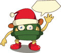 Christmas Monster Stock Images