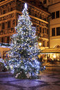 Christmas mood on the old town square prague czech republic Royalty Free Stock Photo