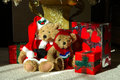Christmas Morning Gifts Royalty Free Stock Photo