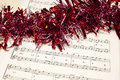 Christmas music concept Royalty Free Stock Photography