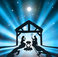 The Christmas Nativity Royalty Free Stock Photo