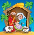 Christmas Nativity scene 3 Stock Image