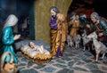 Christmas nativity scene Royalty Free Stock Photo