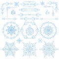 Christmas,New year decor set.Winter elements