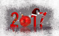 Christmas New Year 2017 Decorated