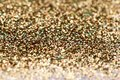 Christmas new year gold and silver glitter background holiday abstract texture sparkling Stock Image
