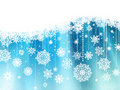 Christmas & New-Year's background. EPS 8 Royalty Free Stock Photo