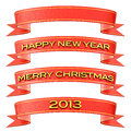 Christmas / New Year's decoration Royalty Free Stock Photo