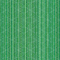 Christmas or New Year seamless pattern with snowflakes and green stripes. Winter background with bar code.